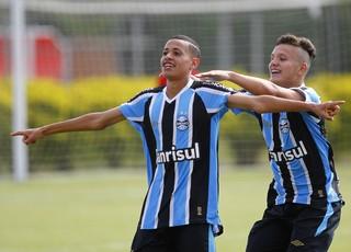 Patrick, atacante do Grêmio sub-17 (Foto: Rodrigo Fatturi/Grêmio/Divulgação)