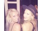 Britney Spears e Kate Hudson caem juntas na balada