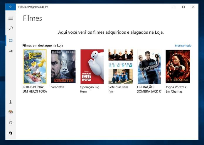 Novo programa reúne stream de filmes e vídeos próprios do usuário (Reprodução)