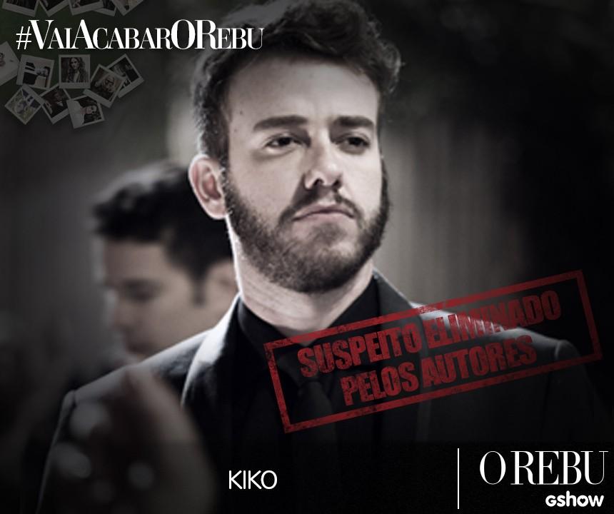 Kiko de O Rebu (Foto: O Rebu / TV Globo)