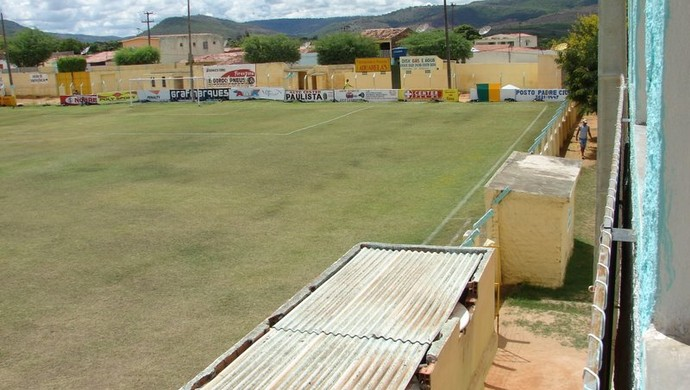 Estádio Arnon de Melo, em Santa do Ipanema (Foto: Paulo Lira/Notícia na Mira)