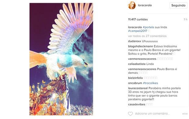 Carolina Dieckmann  (Foto: Reprodução / Instagram)