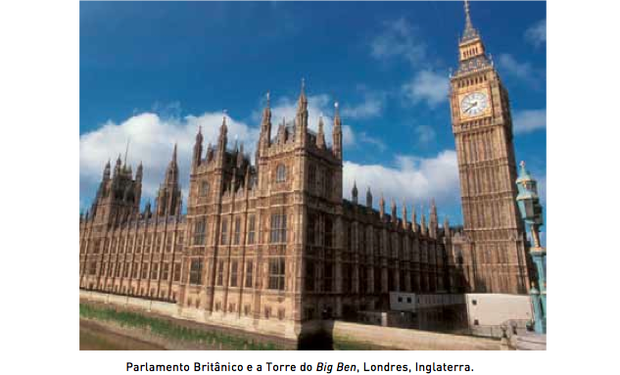 Parlamento inglês (Foto: Reprodução/UERJ)