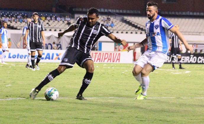 Paysandu x Bragantino - Ednei e Leandro Cearense (Foto: Fernando Torres/Ascom Paysandu)