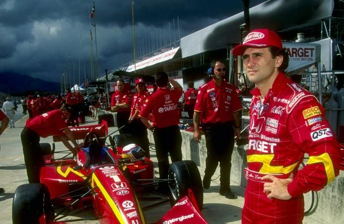 Alex Zanardi chegou em segundo em corrida da Indy no Rio de Janeiro (Foto: Getty Images)