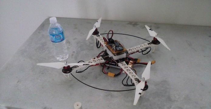 Drone caseiro (Foto: Divulgação/José Roberto Colombo Jr.) (Foto: Drone caseiro (Foto: Divulgação/José Roberto Colombo Jr.))
