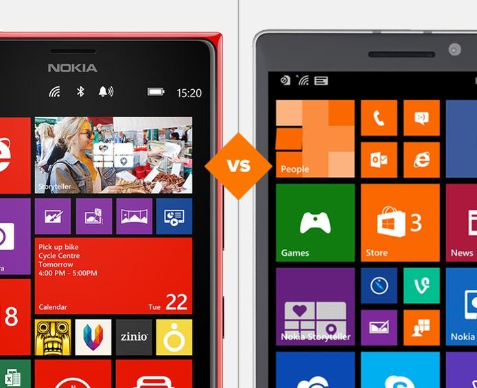 Lumia 1520 ou Lumia 930? Qual o melhor para o seu perfil? (Foto: Arte/TechTudo)