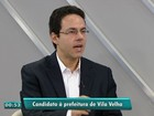 Rafael Favatto do PEN fala sobre propostas para Vila Velha, ES