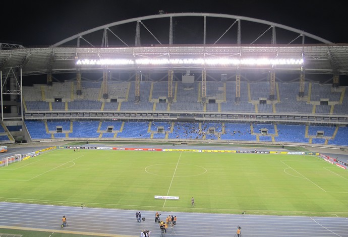 Botafogo x Botafogo-PB Copa do Brasil Engenhão (Foto: Gustavo Rotstein)