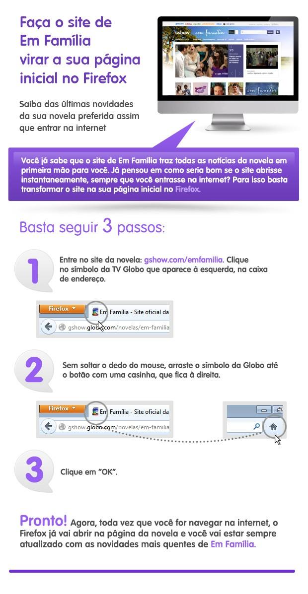 Em Família - Firefox (Foto: TV Globo)