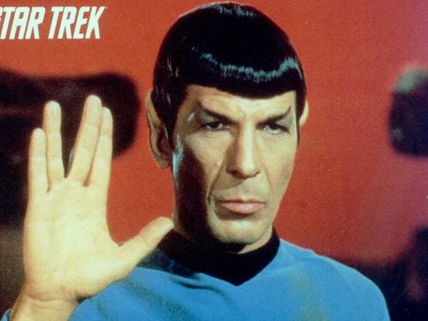 Leonard Nimoy como Dr. Spock em 'Jornada das Estrelas'  (Foto:  Divulgação)