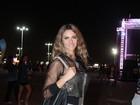 Fernanda Lima curte quinto dia de Rock in Rio