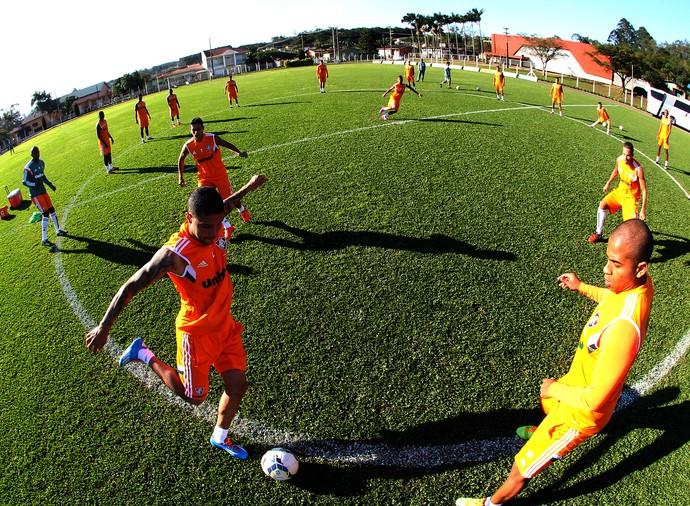 Treino Fluminense em Santa Catarina (Foto: Nelson Perez / Fluminense)