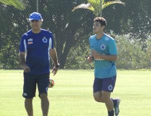 Vinicius Araujo Treino Cruzeiro (Foto: Mauricio Paulucci)