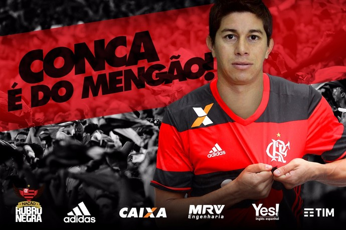 Conca é o novo reforço do Flamengo (Foto: Divulgação)