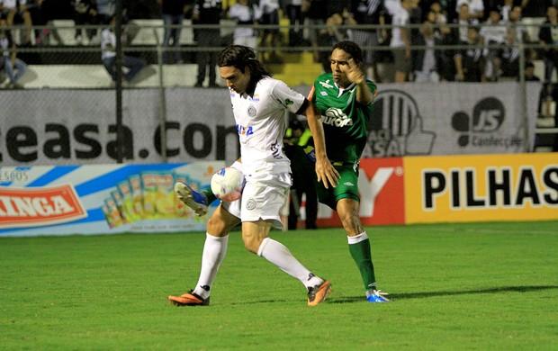 ASA x Chapecoense, em Arapiraca (Foto: Ailton Cruz/ Gazeta de Alagoas)