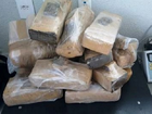 Polícia apreende 20 quilos de maconha em rodoviária de Fortaleza (Reprodução/SSPDS)