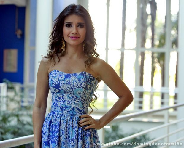 Paula Fernandes (Foto: Ellen Soares / TV Globo)