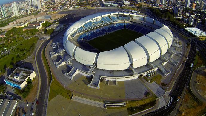 Resultado de imagem para PF investiga desvios de recursos em obras de estádio da Copa em Natal