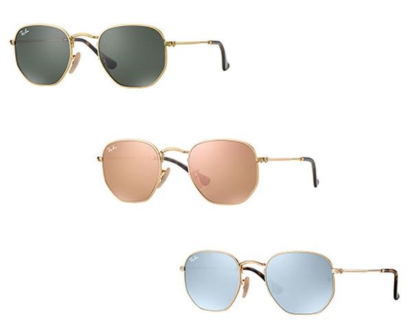 Os óculos da Ra-Ban vem com lentes de cores variadas (Foto: Reprodução/Instagram)