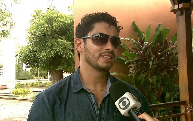 O gerente administrativo e financeiro Marcelo Oliveira tem as viagens como um hobby (Foto: Acre TV)
