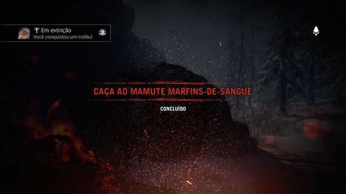 Far Cry Primal: conquista Em extinção vai pipocar ao final do confronto (Foto: Reprodução/Victor Teixeira)