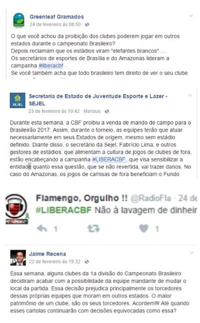 monatgem sobre libera cbf (Foto: GloboEsporte.com)