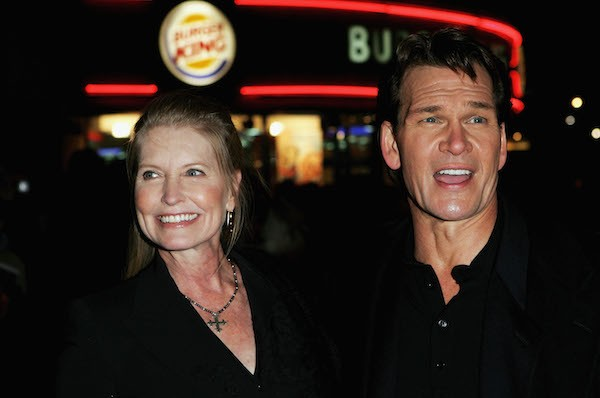 O ator Patrick Swayze e sua esposa, Lisa Niemi (Foto: Getty Images)