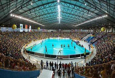 Centro Olímpico Uberaba Mundial Handebol 2015 (Foto: Alexandre Mota)