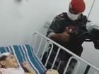 Em RR, menino recebe visita do Bope em hospital e ação repercute na web