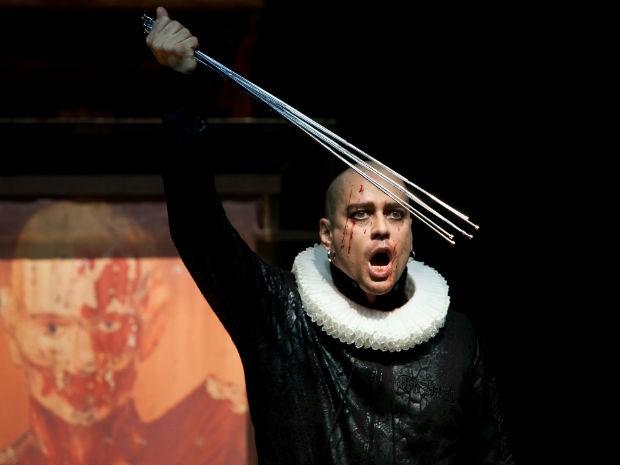 """Marcelo Antony interpreta """"Macbeth"""", de William Shakespeare  (Foto: Divulgação)"""