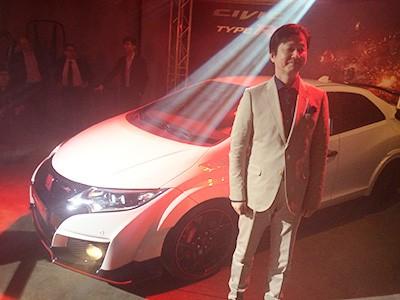Hisayuki Yagi, líder de desenvolvimento do Civic Type R (Foto: Autoesporte)