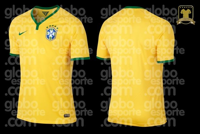 footballnus Picture: Leaked! The Brazil shirts for the 2014 World Cup