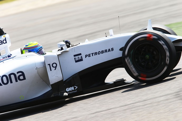 Felipe Massa Williams Treino Classificatório GP da China (Foto: Getty Images)