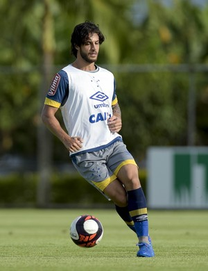 Hudson; Cruzeiro (Foto: Washington Alves/Cruzeiro)