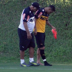 Giovanni Augusto, meia do Atlético-MG (Foto: Fernando Martins )