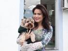 Geisy Arruda anuncia grande festa de aniversário para seu cachorro: 'Filho'