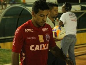Tiago Dutra, volante do América-RN (Foto: Canindé Pereira/Divulgação)