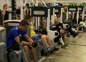 Academias de Rio Branco oferecem outras atividades além de musculação (Foto: Reprodução/TV Acre)