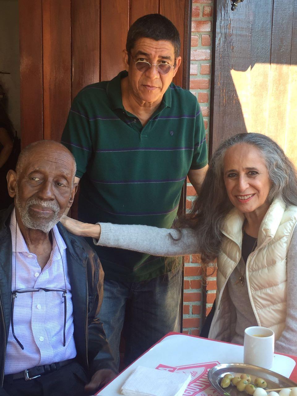 Nelson Sargento, Zeca Pagodinho e Maria Bethânia