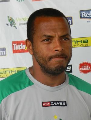 André Neles, atacante do Uberlândia Esporte (Foto: Hismênia Keller/GLOBOESPORTE.COM)