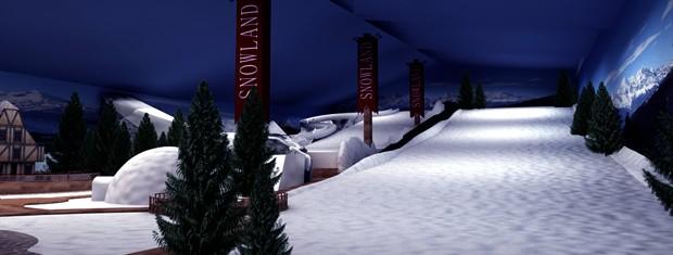 Parque temático Snowland (Foto: Divulgação/Snowland)