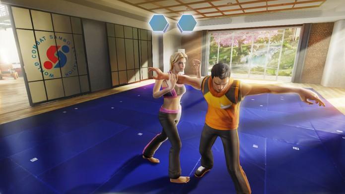 Jogo de Kinect da Ubisoft ensina defesa pessoal (Foto: Divulgação/Ubisoft)