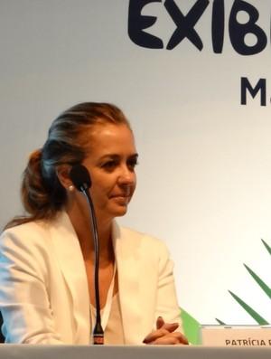 Patrícia Príncipe TV Globo (Foto: Viviane Leão/GLOBOESPORTE.COM)