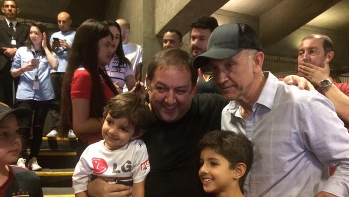 São Paulo x Atlético-MG Osorio  (Foto: Marcelo Prado)