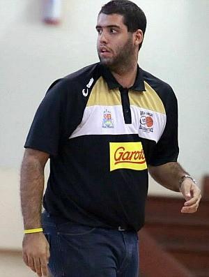 João Victor Freitas, técnico do Vila Velha/Cetaf (Foto: Célio Messias/LNB)