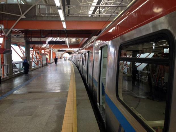 metrô_salvador_05 (Foto: Ruan Melo/G1)