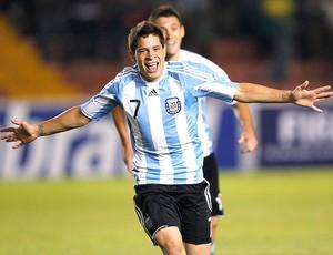 Juan Iturbe gol Argentina (Foto: Reuters)