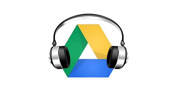 Aprenda a ouvir músicas e criar playlists no Google Drive (Foto: Arte/TechTudo)