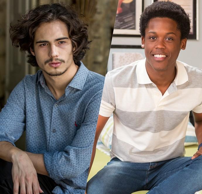 Danilo e Maicon respondem aos fãs no Twitter nesta quinta-feira! (Foto: Ellen Soares / Artur Meninea / Gshow)